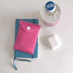 버튼봉투 (Pink Buttoned Envelope)