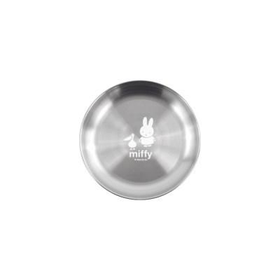화이트 미피 스텐 원형접시 소 150mm