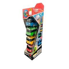 꼬마버스 리틀 타요 미니카 4종세트 어린이 선물 유아 자동차 장난감