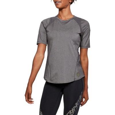 Su_언더아머 여성용 반팔 티셔츠 슬리브 요가복 트레이닝티셔츠 UA퍼