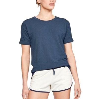 SU_언더아머 여성용 반팔 티셔츠 운동복 요가복 슬리브 UA언스톱어블
