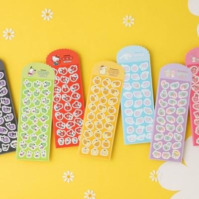 [Sanrio] 123 숫자 스티커