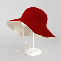 [베네]투컬러 양면 와이어 모자