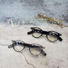 기본 베이직 가벼운 도수없는 투명 데일리 패션 안경