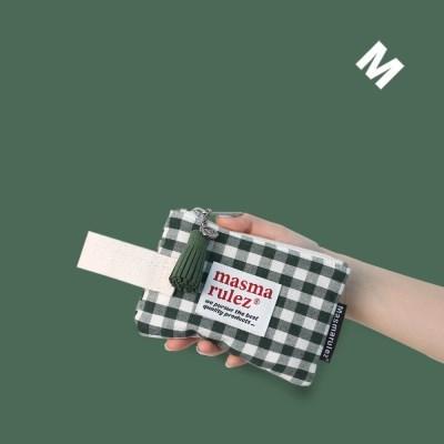 마약 스트랩 파우치 스프링 미니_Green