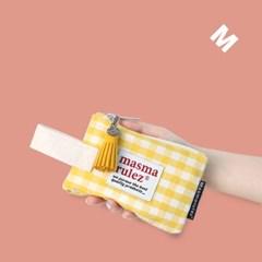 마약 스트랩 파우치 스프링 미니_Yellow