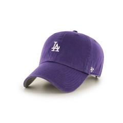 47브랜드 스몰로고 LA 다저스 클린업 볼캡 퍼플 /모자/MLB/ PP