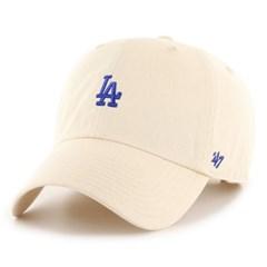 47브랜드 스몰로고 LA 다저스 클린업 볼캡 내추럴 /모자/MLB/ NT