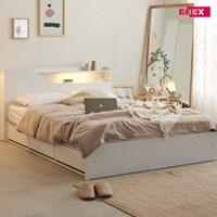젠더 LED 수납형 침대(SS)-호텔식투인스매트리스
