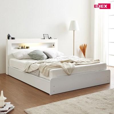 토리 LED 평상형 침대(SS)-쟈가드독립40T매트리스