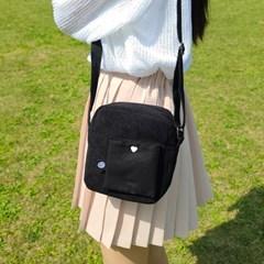 큐브산책가방 풉백고리포함(블랙)