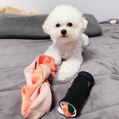 강아지가 좋아하는 어려운 노즈워크 김밥 꽈배기 장난감