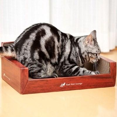 고양이 스크래쳐 라운지 쇼파형 스크래치 장난감