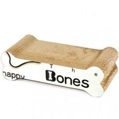 고양이 스크레쳐 뼈다귀 장난감 골판지 미묘 스크래쳐