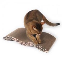 고양이 스크레쳐 웨이브 장난감 골판지 미묘 스크래쳐