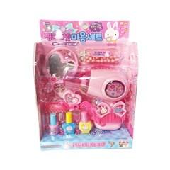 어린이날 선물 여아 화장 미용실놀이 핑크래빗 미용세트