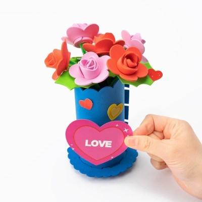 EVA 꽃화분 만들기재료 엄마표 미술놀이