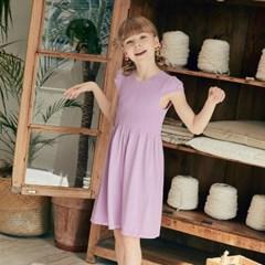 모달이 함유되어 부드러운 키즈 7~9세용 캡슬리브 드레스