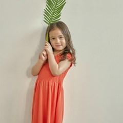 모달이 함유되어 부드러운 키즈 4~6세용 캡슬리브 드레스