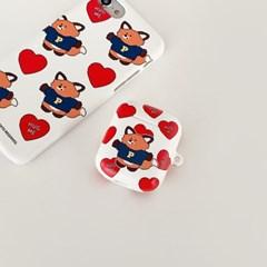 ruddy heart pattern [hard 에어팟케이스]_(1036512)