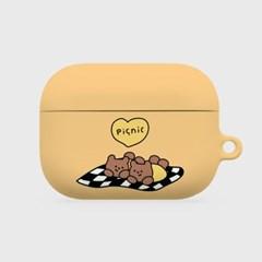 yellow line picnic [hard 에어팟프로케이스]_(1036510)