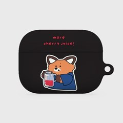 more cherry juice [hard 에어팟프로케이스]_(1036507)