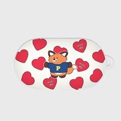 ruddy heart pattern [버즈, 버즈플러스 케이스]_(1036486)