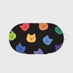 rainbow face gummy [버즈, 버즈플러스 케이스]_(1036485)