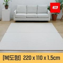 [티지오매트] 우다다 PVC 양면 놀이방매트 (복도형)