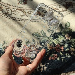 작은 나비 폰케이스 휴대폰케이스