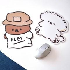 마우스패드 | FLEX / 퐁실펌개