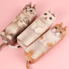 해피토피아 고양이 키워주라냥 필통 리뉴얼_(1940403)