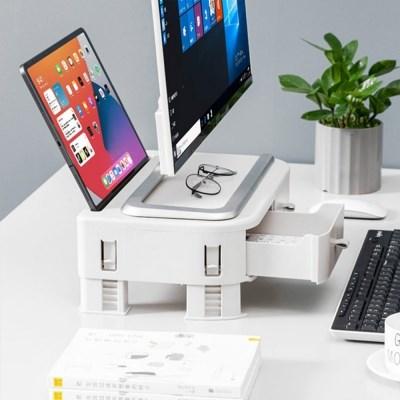 태블릿 거치대 모니터 받침대 크리에이트 멀티선반