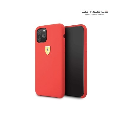 CGMobile 아이폰11 페라리 실리콘 하드케이스 레드