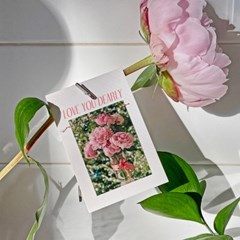 LOVE YOU DEARLY 사랑 미니 카드