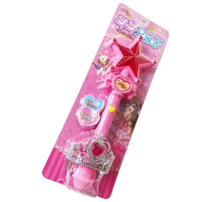 어린이날 선물 여아 장난감 요술봉 불빛 마법 멜로디 매직 왕관