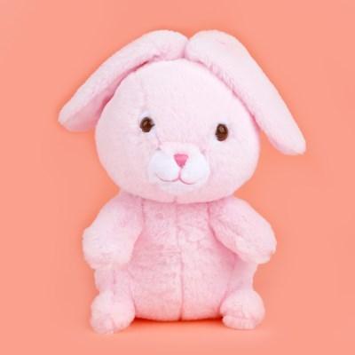 쫑긋토끼 인형 핑크 25cm_(100955852)