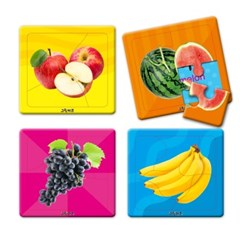 [그린키즈] 연두팡 첫퍼즐 - 과일채소