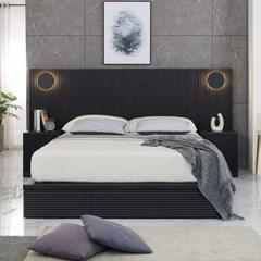 M5172 템바보드 블랙 Q 침대 세트_(3025241)
