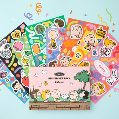 [Peanuts] 스누피 컨페티 스티커팩