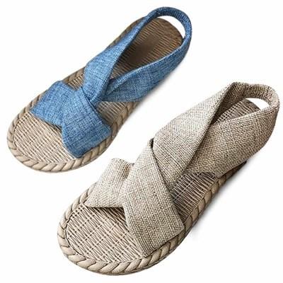 kami et muse Linen strap soft sandals_KM21s166