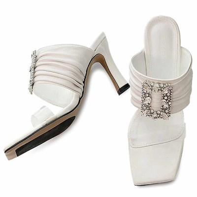 kami et muse Pendent heel slippers_KM21s164