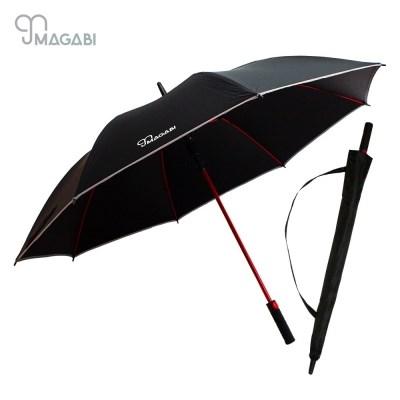 마가비 프리미엄엣지 장우산 튼튼한 암막 자외선차단 골프 우산
