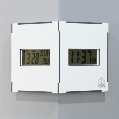 (ktk179)디지털 코너시계 (화이트)_(1625405)