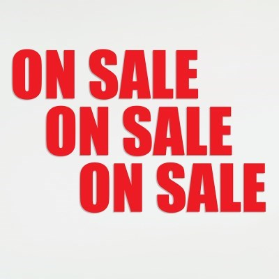 On sale - 세일표시 가게 매장 옷가게 인테리어 스티커