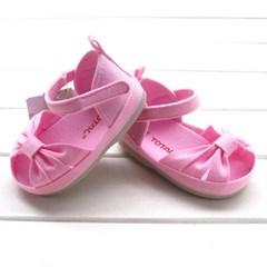 핑크 리본 유아 샌들(130-150) 303168