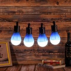 아웃도어 LED 캠핑등 4p(블루) 차박 캠핑무드등