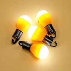 아웃도어 LED 캠핑등 4p세트(옐로우) 캠핑무드등