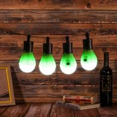 아웃도어 LED 캠핑등 4p(그린) 차박 캠핑무드등