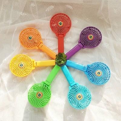 (색상랜덤) 손큘레이터 휴대용 미니 선풍기